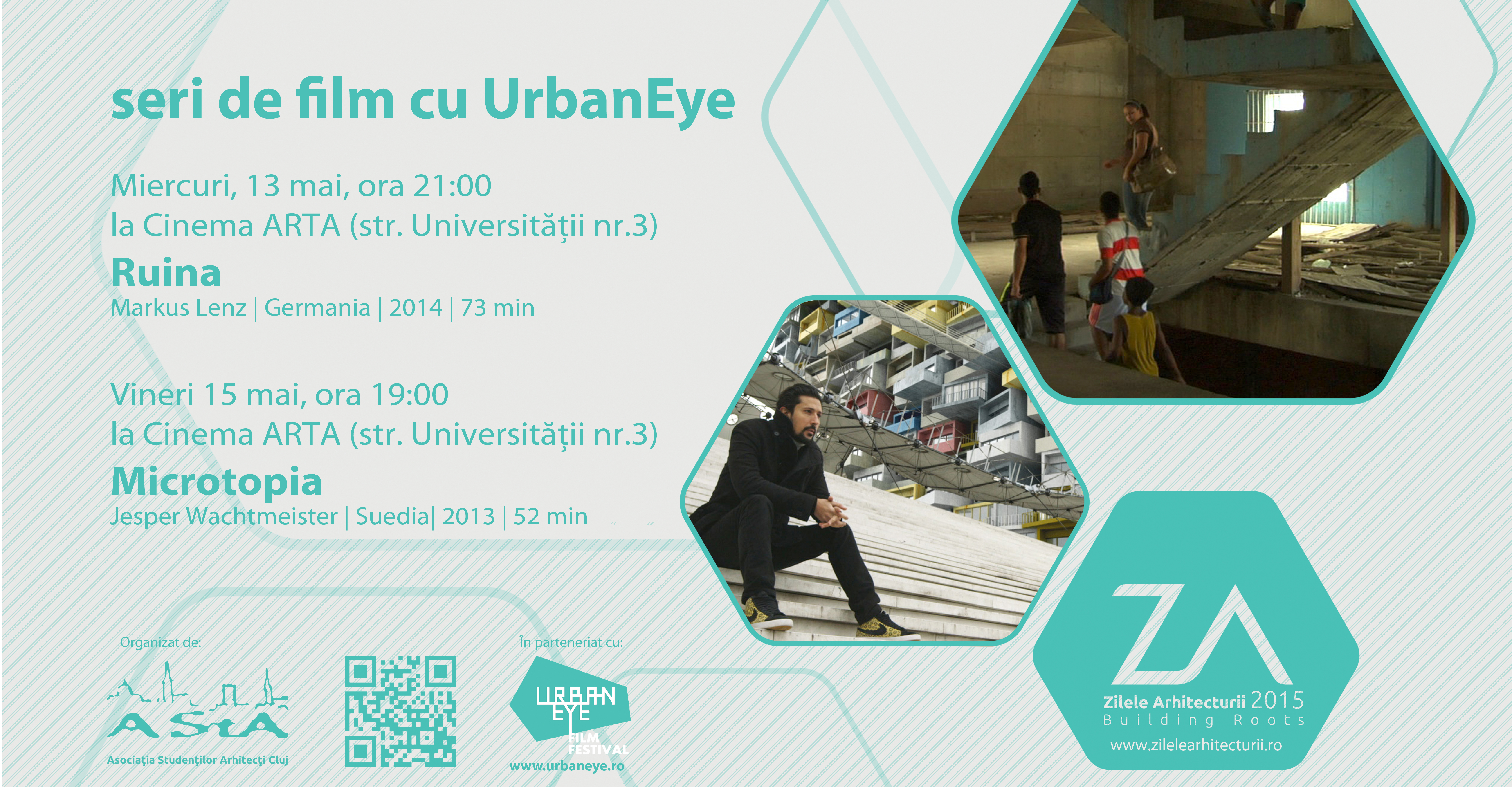 "UrbanEye Film Nights at ""Architecture Days"" in Cluj-Napoca 