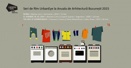 UrbanEye Film Nights at Bucharest Architecture Annual | July 2015